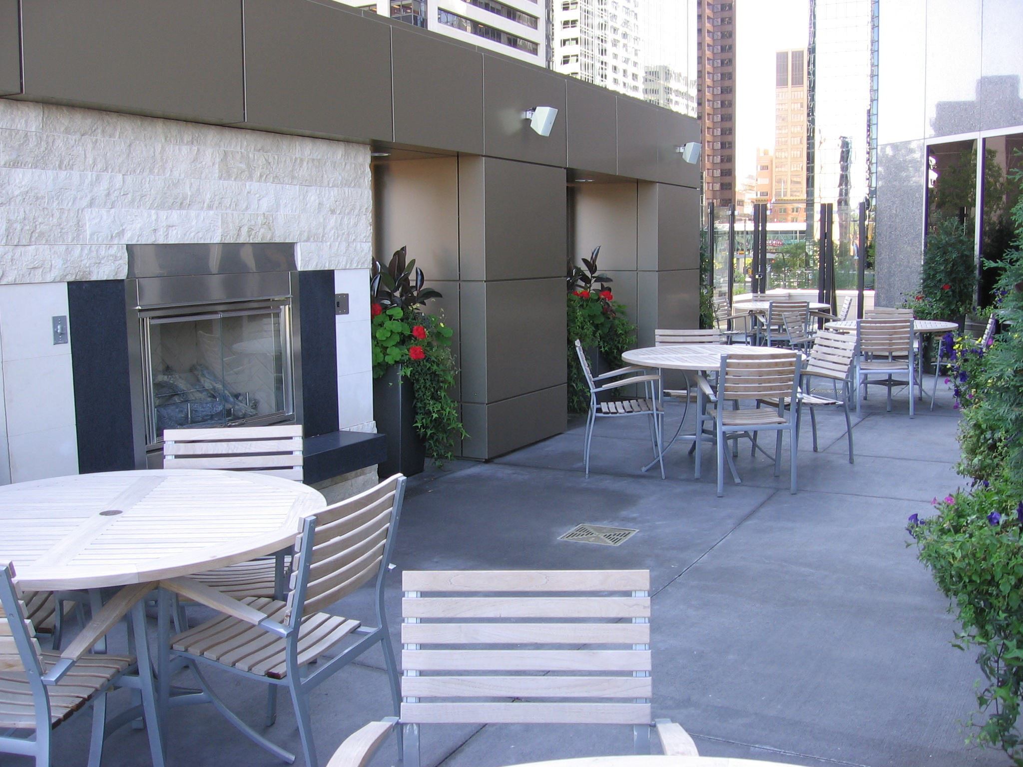 Club Lounge and Patio