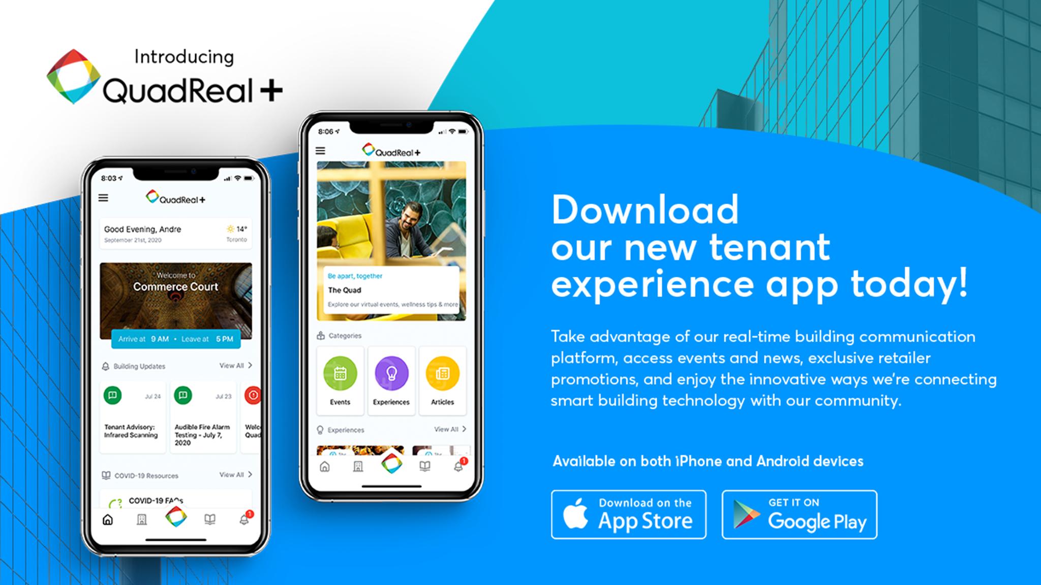 QuadReal + App